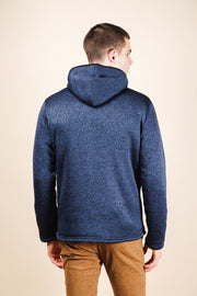 Brooklyn Cloth Ocean Sherpa Lined Cozy Knit Hoodie for Men