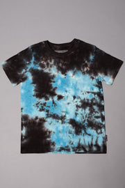 Boys' Black and Blue Tie Dye Tee