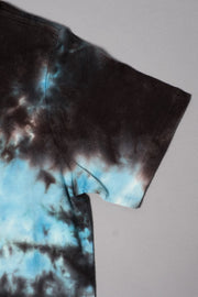 Boys Black and Blue Tie Dye T-shirt
