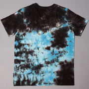 Brooklyn Cloth Boys Black and Blue Tie Dye T-Shirt