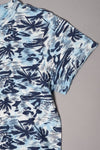 Boys Blue Palm Tree T-shirt