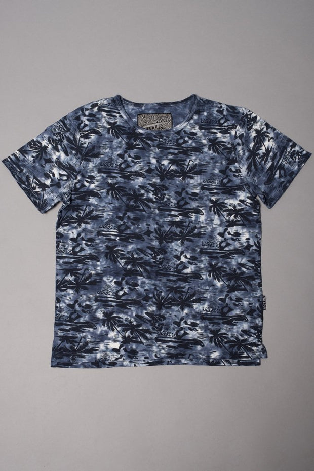 Brooklyn Cloth Boys Navy Palm Tree T-shirt