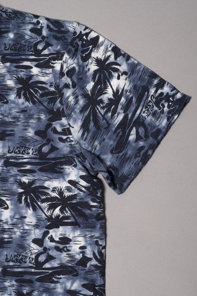 Boys Navy Palm Tree T-shirt