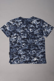 Boys Navy Palm Tree Graphic T-shirt