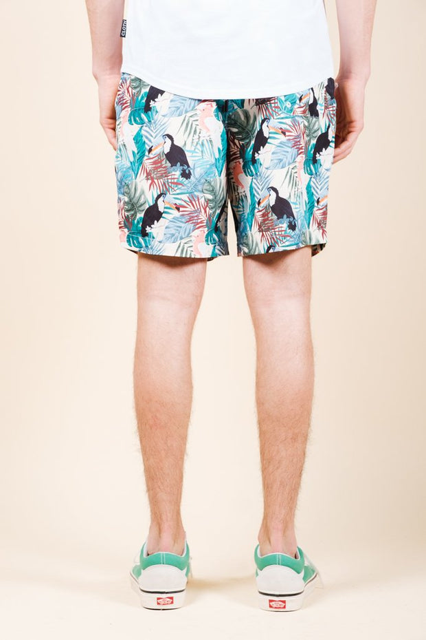 Brooklyn Cloth Toucan Swim Trunks