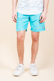 Blue Streaky Swim Trunks