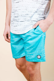 Brooklyn Cloth Blue Streaky Swim Trunks