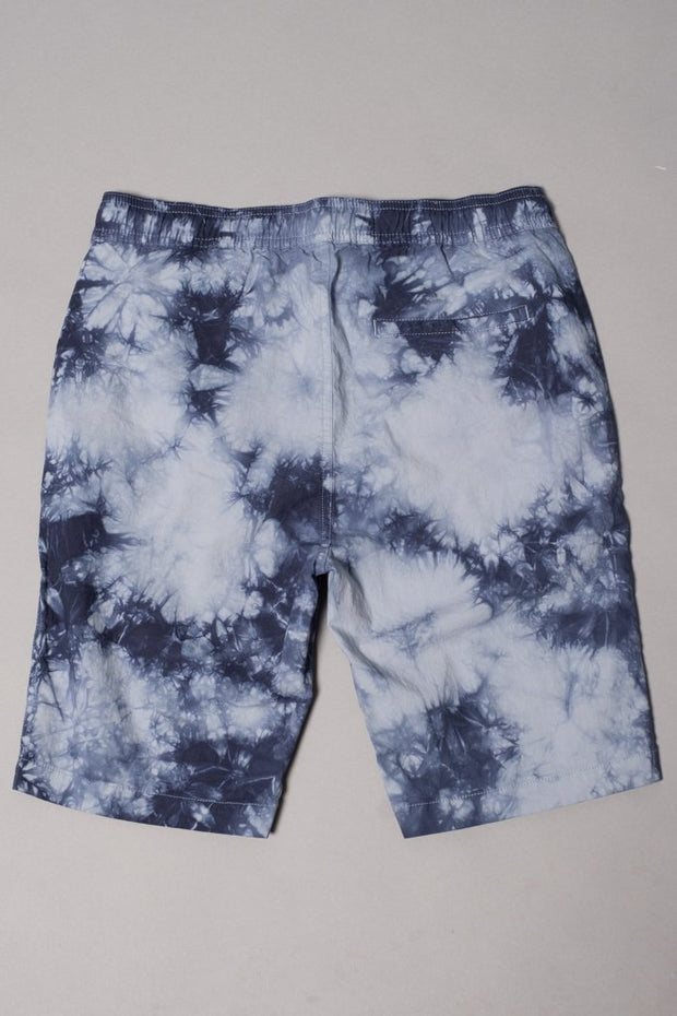 Boys' Navy Tie Dye Poplin Shorts