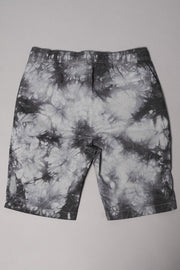 Boys' Charcoal Grey Tie Dye Poplin Shorts at Brooklyn Cloth