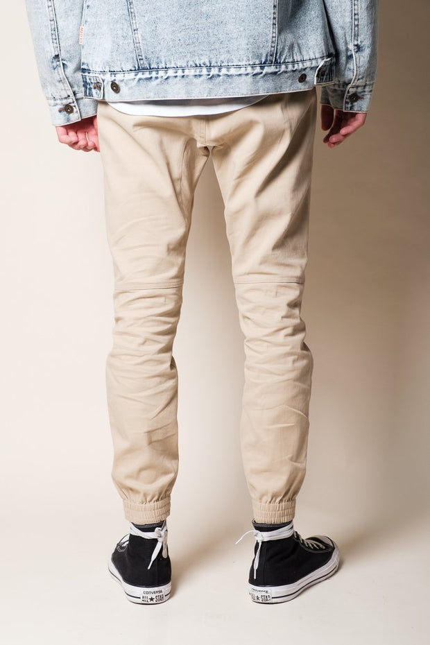 Brooklyn Cloth Khaki Jogger Pants for Men