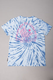Boys Blue Spiral Tie Dye Tee at Brooklyn Cloth