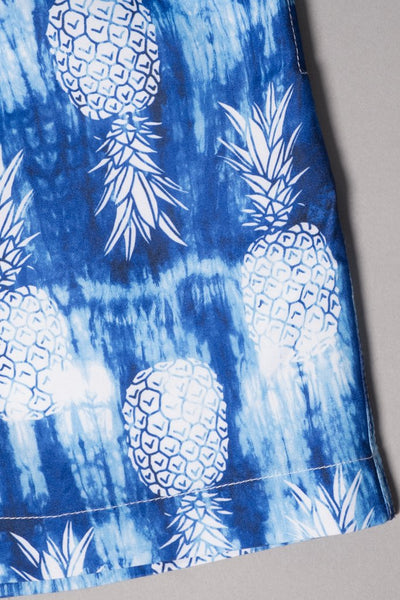 Brooklyn Cloth Boys Pineapple Swim Trunks