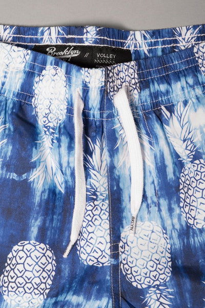 Boys' Shibori Pineapple Swim Trunks