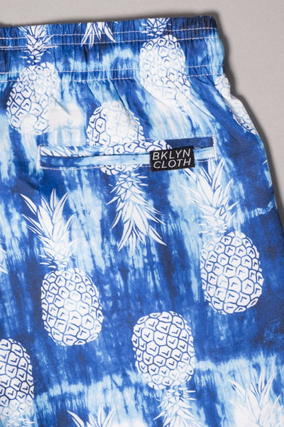 Boys Pineapple Swimming Shorts