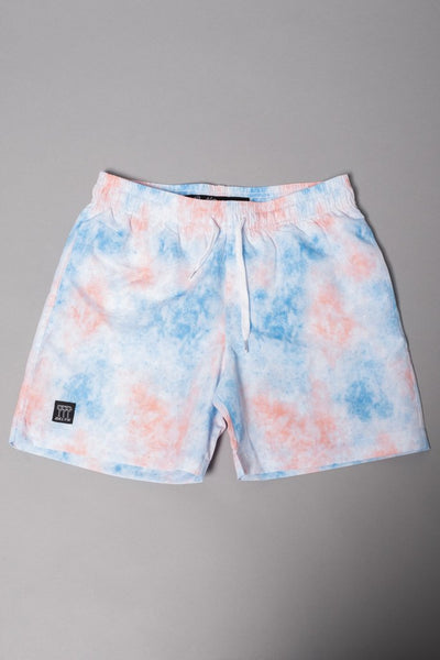 Boys' Pastel Tie Dye Swim Trunks