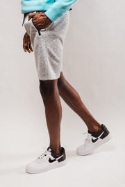 Light Grey Speckled Streaky Shorts