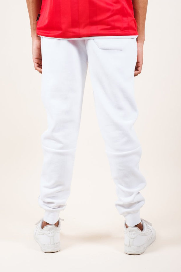 Brooklyn Cloth White Knit Jogger Pants 2.0 for Men