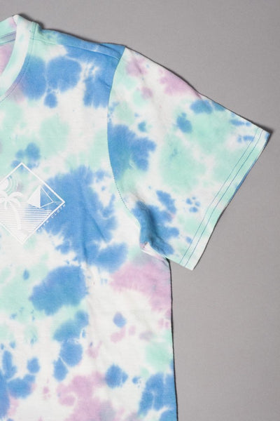 Boys Palm Tree Tie Dye Tee at Brooklyn Cloth