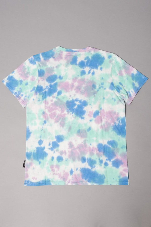 Boys Tie Dye Palm Tree T-Shirt