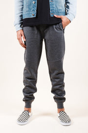 Charcoal Grey Knit Jogger Pants 2.0 for Men