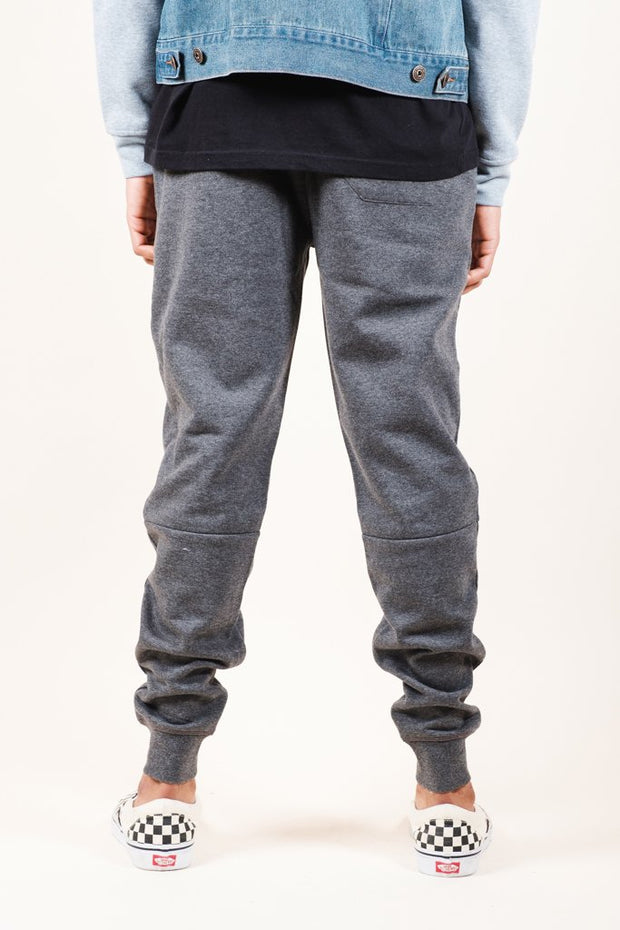 Brooklyn Cloth Men's Charcoal Grey Knit Jogger Pants 2.0