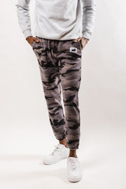 Black Camo Polar Fleece Jogger