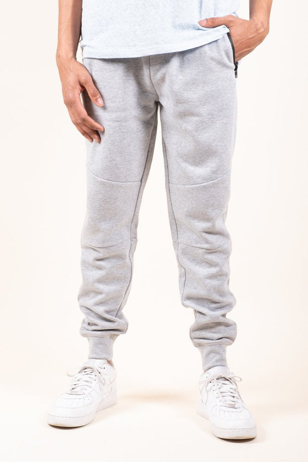 Heather Grey Knit Jogger Pants 2.0 for Men