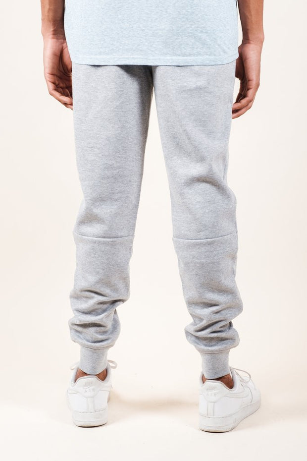 Brooklyn Cloth Heather Grey Knit Jogger Pants 2.0 for Men