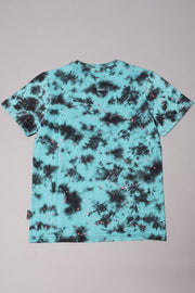Brooklyn Cloth Boys' Turquoise Tie Dye Paint Splatter Tee