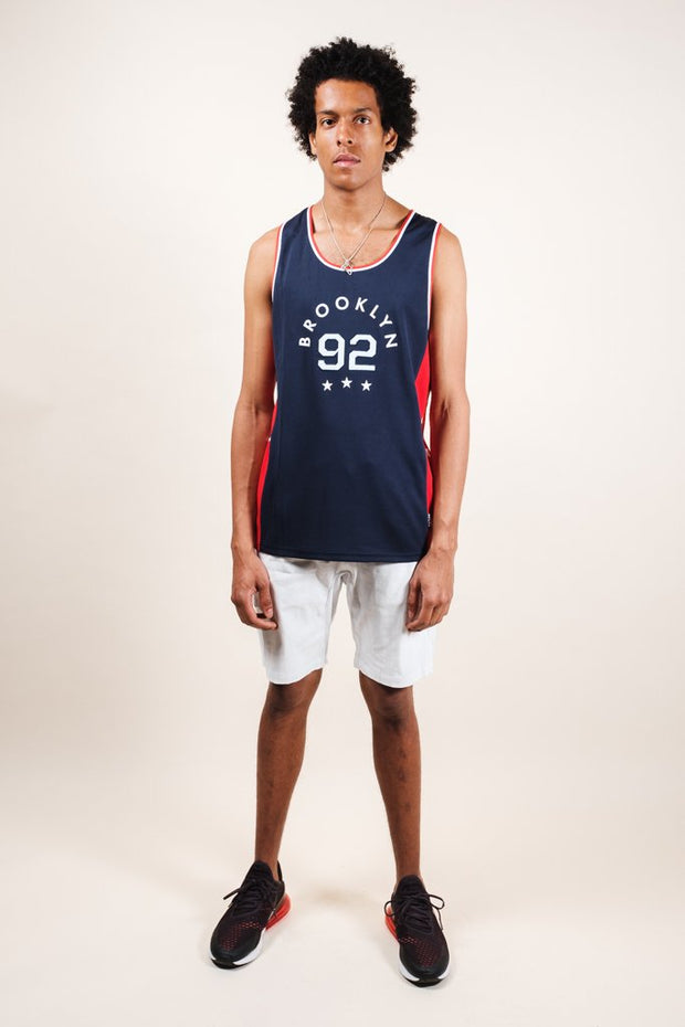 Brooklyn Cloth Navy Brooklyn Tank Top for Men