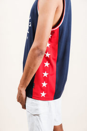 Men's Navy Brooklyn Tank Top