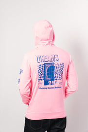 Neon Pink 99 Cent Dreams Hoodie