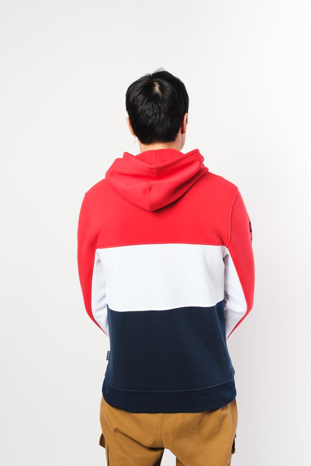 Brooklyn Color Blocked Hoodie