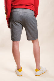 Comfy Loungewear shorts in black marl