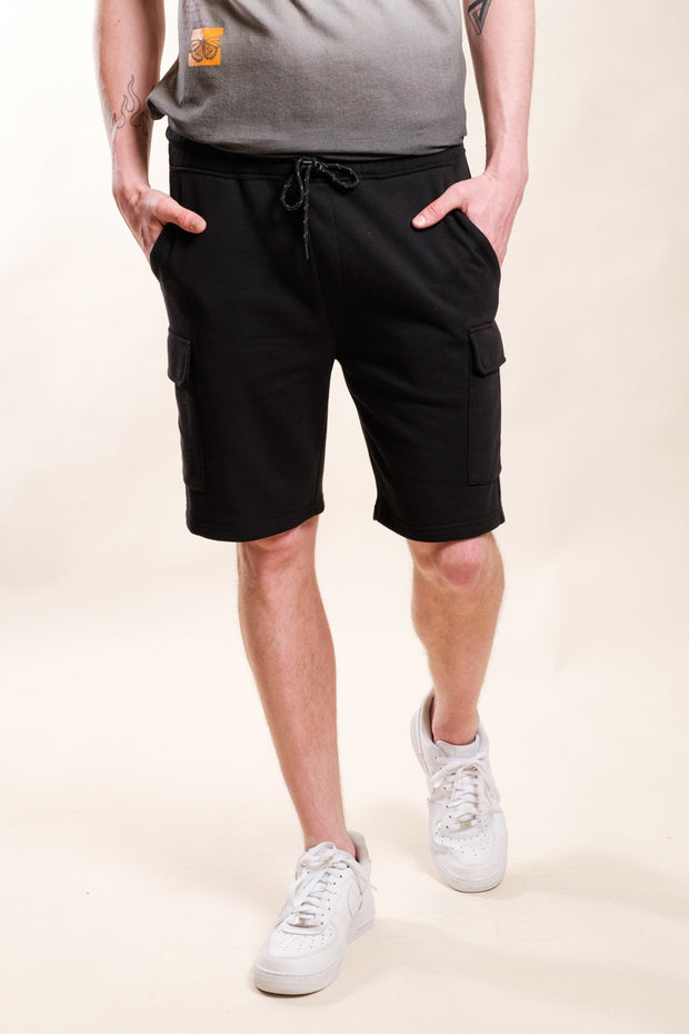 Black Fleece Cargo Shorts