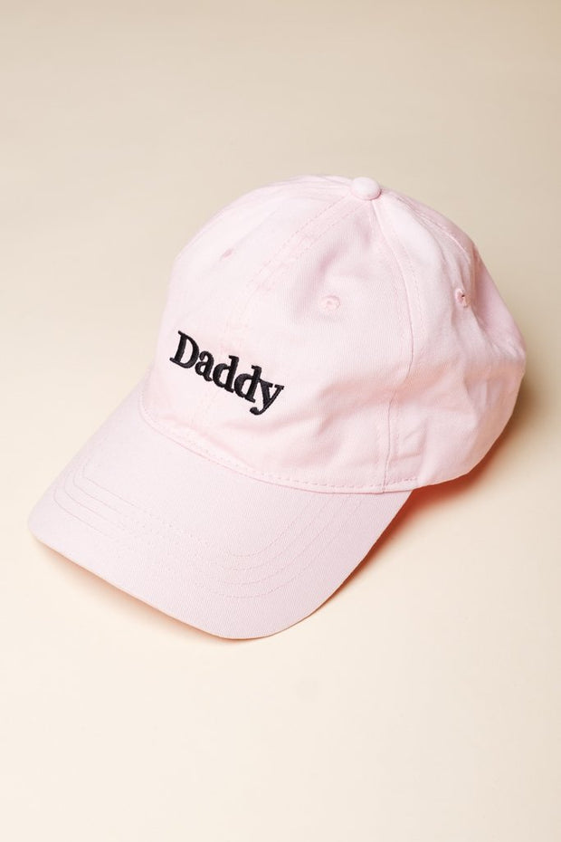 Pink Daddy Dad Hat for Men