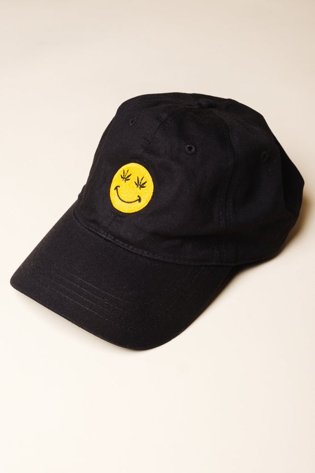 Smiley Face Dad Hat at Brooklyn Cloth