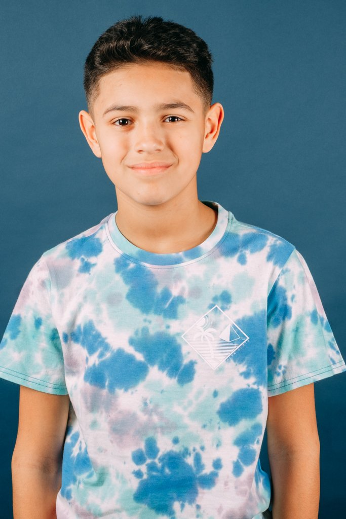 Boys' Palm Tree Tie Dye Tee