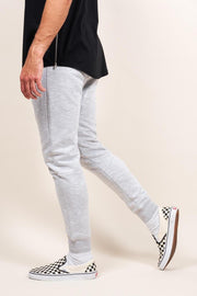 Grey Streaky Jogger Pants for Men