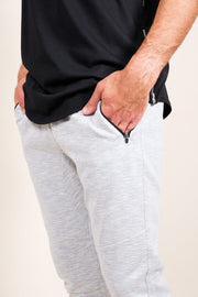 Brooklyn Cloth Grey Streaky Jogger Pants for Men