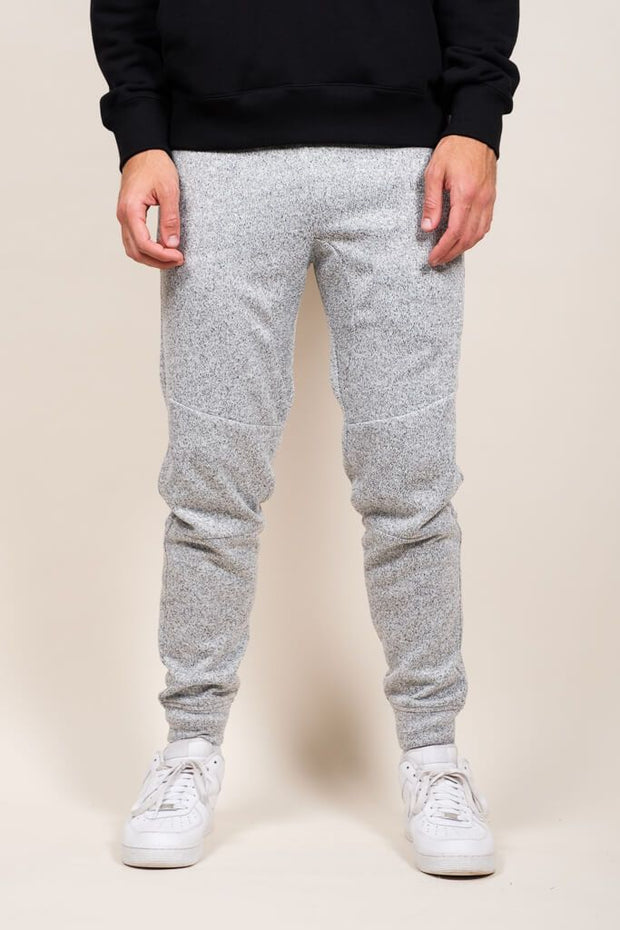 Grey Marl Heal Sealed Jogger Pants