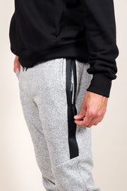 Men's Grey Marl Heal Sealed Jogger Pants