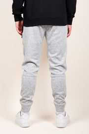 Brooklyn Cloth Grey Marl Heal Sealed Jogger Pants for Men