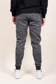 Brooklyn Cloth Black Marl Heat Sealed Jogger Pants