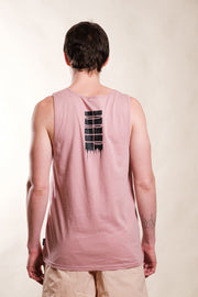Dusty Rose Drip Tank Top