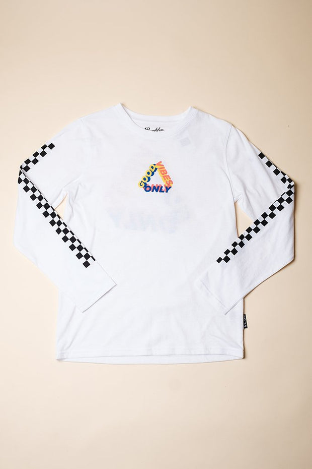 Boys Good Vibes Long Sleeve Tee