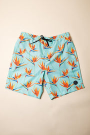 Birds of Paradise Swim Trunks for Men