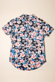 Floral Printed Woven Shirt for Men