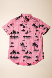 Palm Tree Button Down shirt for Men