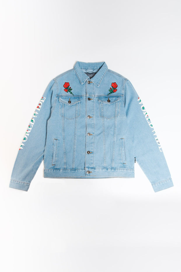 Worldwide Rose Denim Jacket